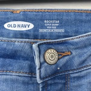 Old Navy Jeans - ☁️ Old Navy Rockstar Super Skinny High Rise Jeans